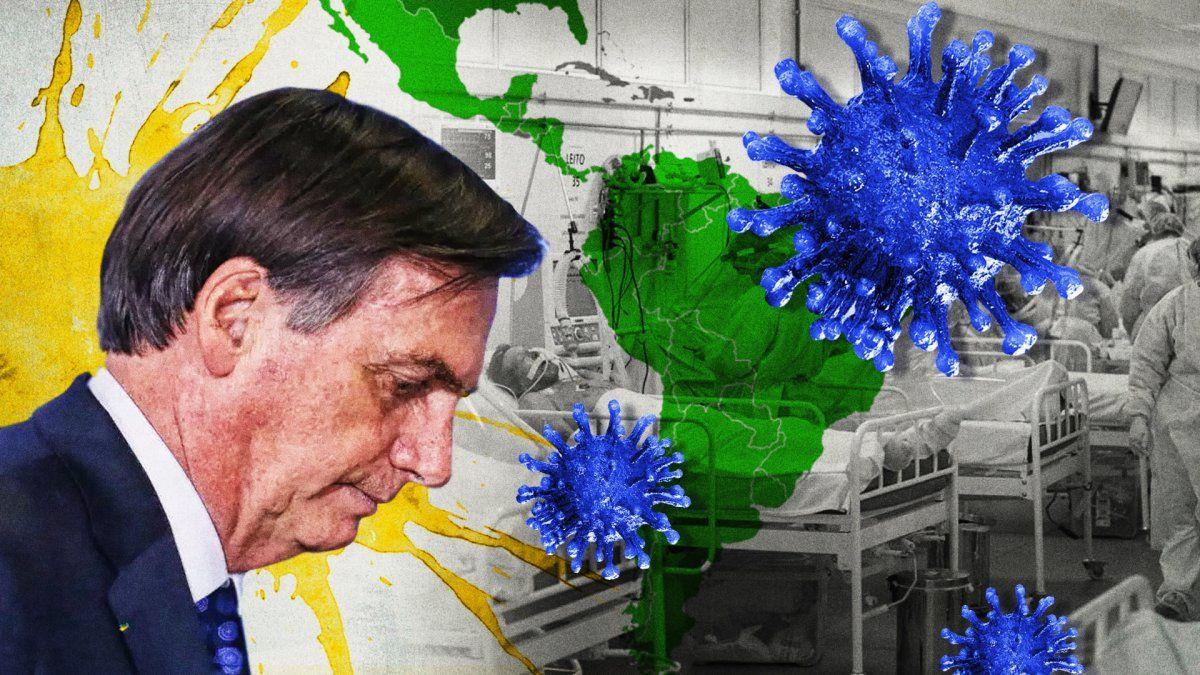 Brasil no logra estabilizar su situación respecto a la pandemia de covid-19.