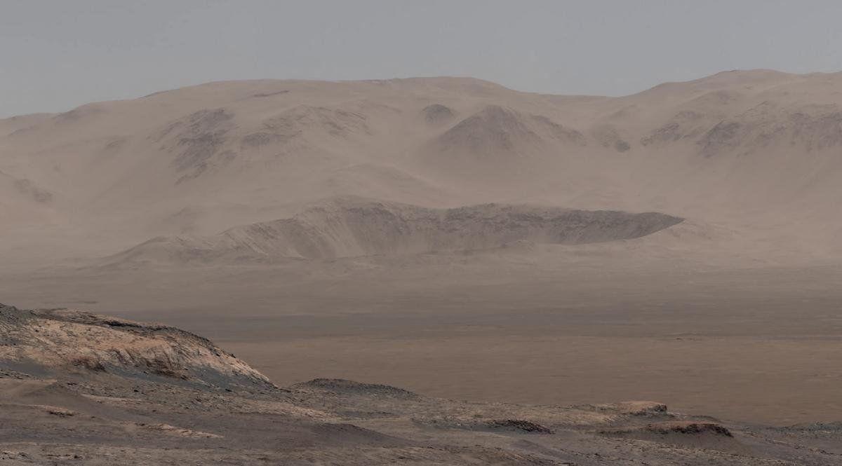 Imagen de un video que muestra al planeta Marte en1800 millones pixeles. Es la mejor imagen jamás vista del planeta rojo.