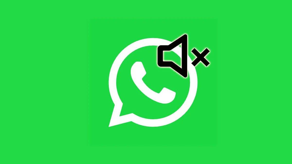 WhatsApp silenciar