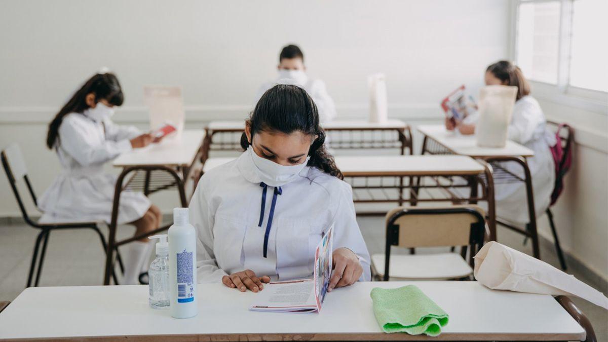 La decisión de la vuelta a clases presenciales la tomarán las jurisdicciones en base a un indicador objetivo de riesgo epidemiológico que se consensuó entre los ministros