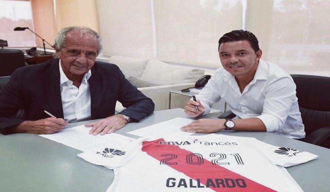 DOnofrio aseguró que Gallardo cumplirá su contrato en River