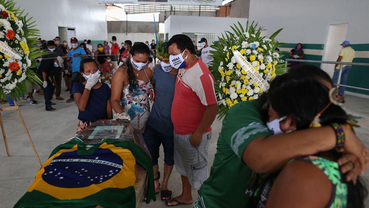 Brasil es el país más golpeado por la pandemia en América del Sur.