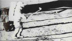 El golpe a la pelota de golf durante años se ha estimado en 183 metros; notable, considerando cuánto restringía el movimiento de Shepard la mayor parte de su traje espacial.