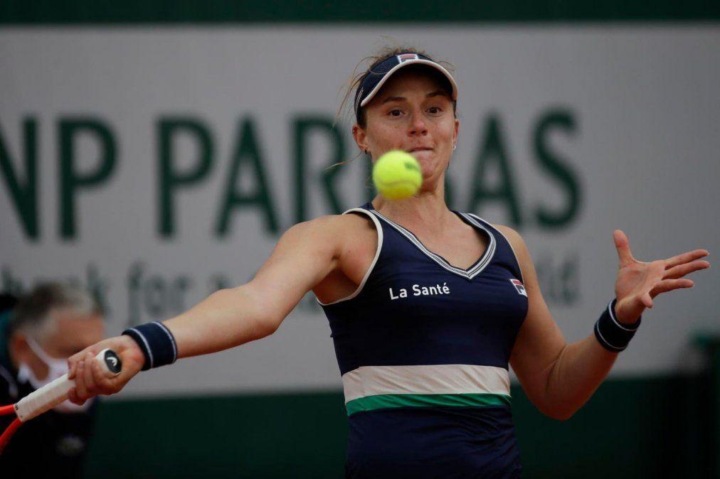 Nadia Podoroska juega este martes ante Elina Svitolina para intentar alcanzar las semifinales de Roland Garros.