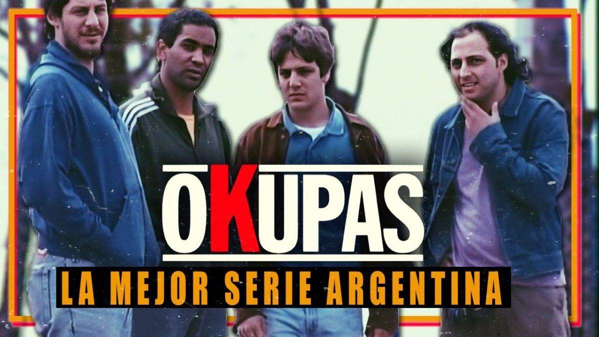 Netflix lanzó el trailer de Okupas remasterizada