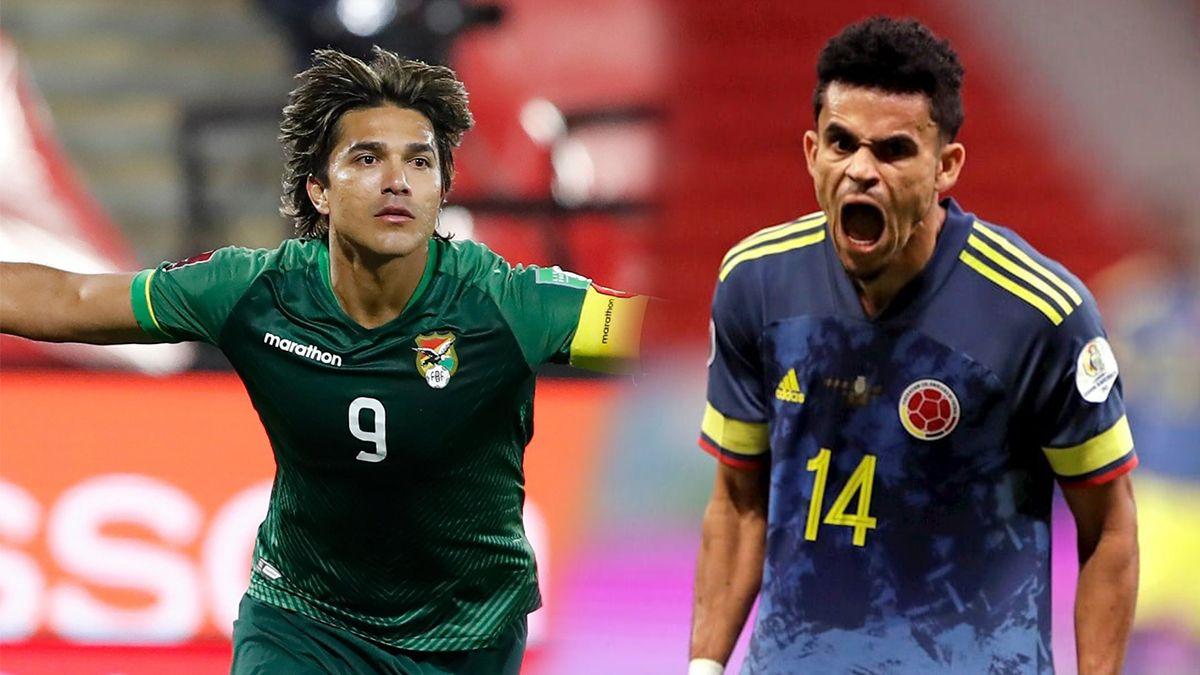 Colombia visita este jueves a Bolivia por la novena fecha de las Eliminatorias Sudamericanas.