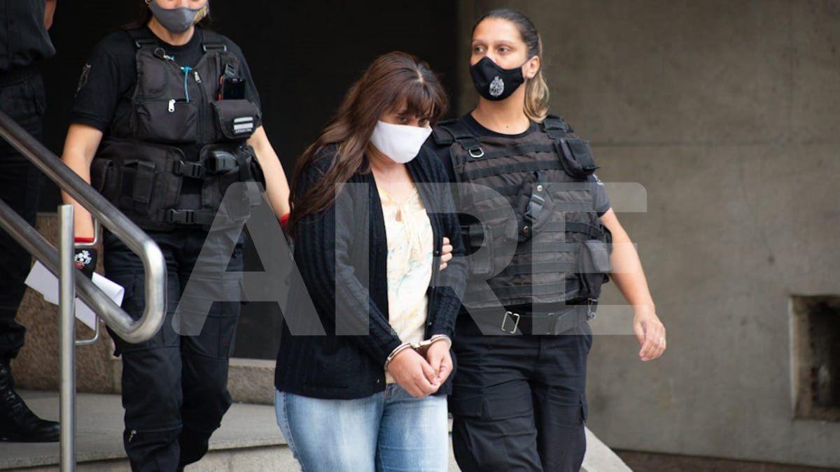 Patricia Sayago, el día que fue absuelta en el Tribunal Oral Federal.
