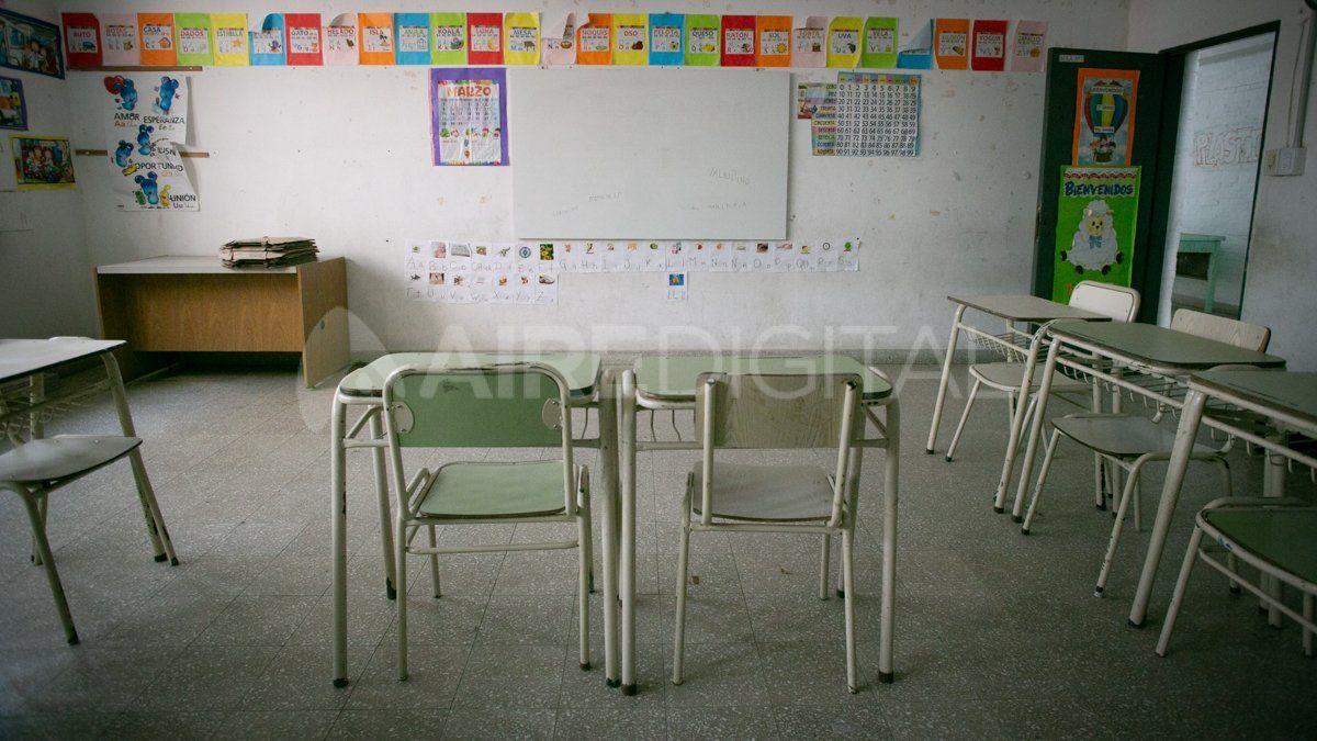 Los estudiantes de los primeros y séptimos grados de escuelas primarias rurales de Santa Fe
