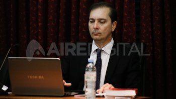 Gustavo Urdiales, juez penal de primera instancia de tribunales.