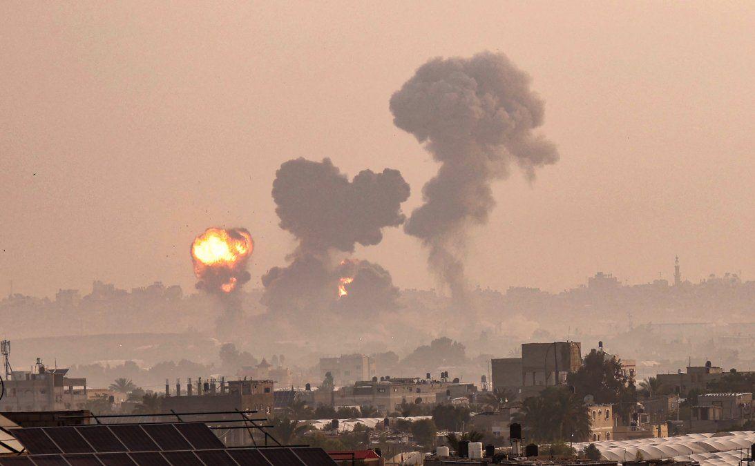Milicianos de Gaza lanzaron más de 250 cohetes contra Israel