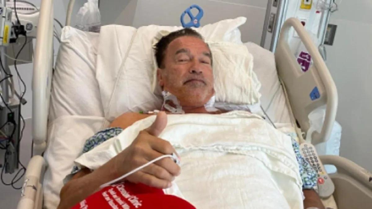 Arnold Schwarzenegger se recupera de la operación del corazón: Me siento fantástico y ya estuve caminando