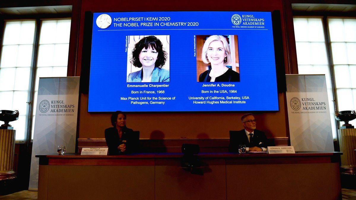 Emmanuelle Charpentier y Jennifer Doudna se convirtieron en la sexta y séptima mujer que ganan un Nobel de Química desde 1901.