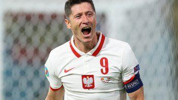 Eurocopa: Lewandowski amargó a España, fue empate 1 a 1