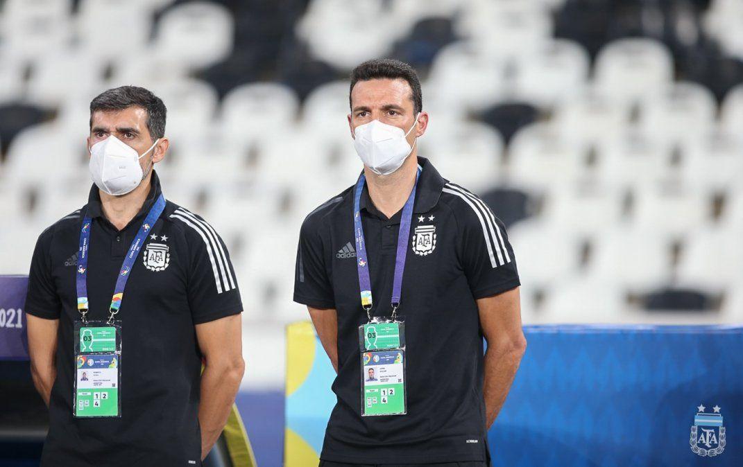Lionel Scaloni define el equipo titular de la Selección Argentina para enfrentar a Uruguay por la Copa América de Brasil.