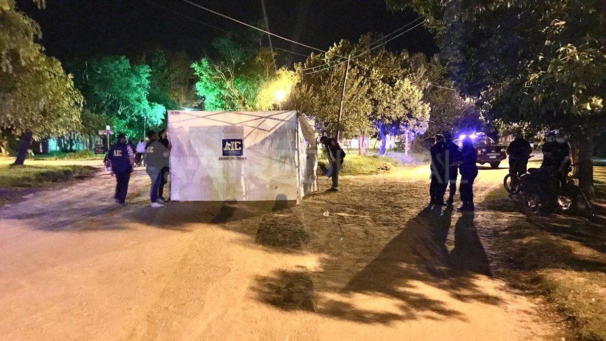 El cuarto homicidio del año se consumó en barrio El Tanque de Santo Tomé (foto ilustrativa).