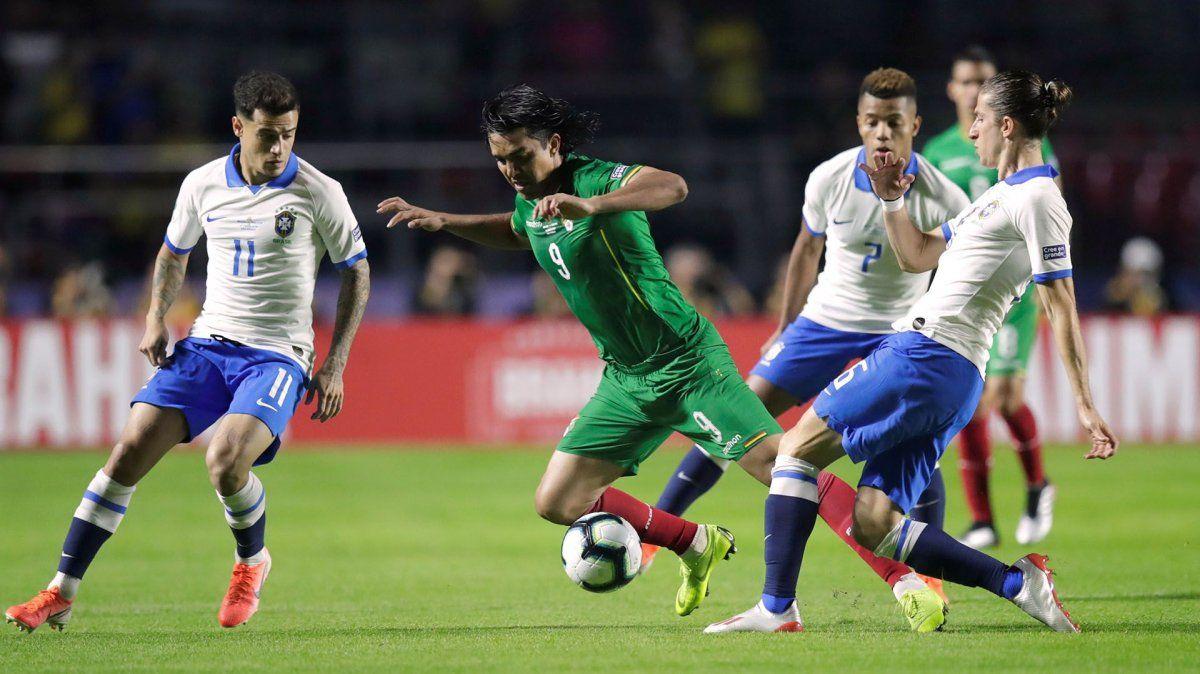 Brasil recibe a Bolivia a partir de las 21.30 de Argentina en el Arena Corinthians de San Pablo.