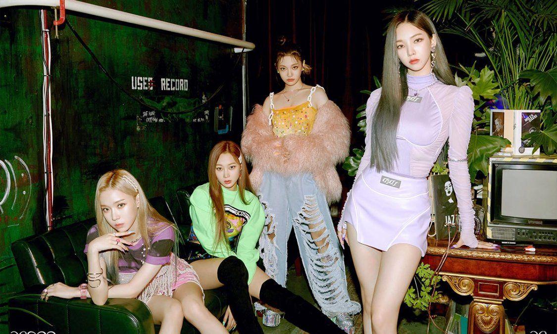 El grupo femenino de Kpop