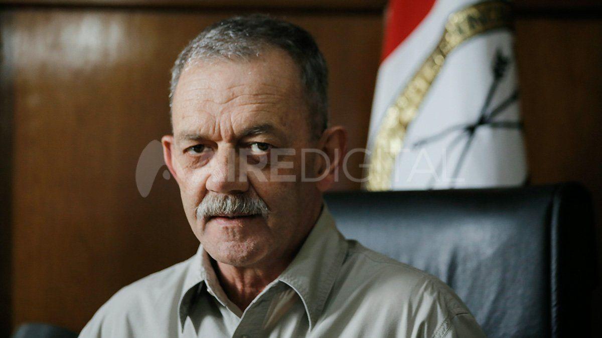 Víctor Sarnaglia es el jefe de la Policía de la Provincia de Santa Fe.