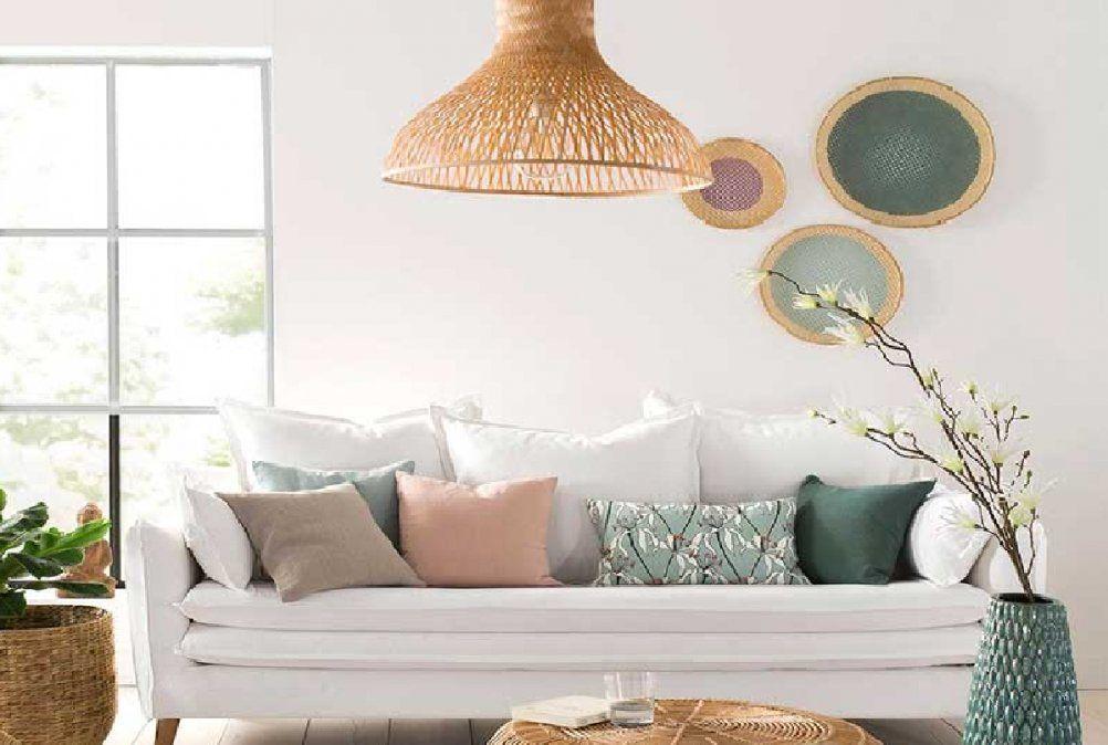 Cómo decorar la pared del sofá