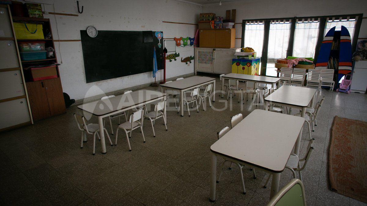 Los primeros y séptimos grados de escuelas primarias rurales de Santa Fe