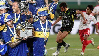 Independiente y Defensa y Justicia entraron a las copas gracias a Boca