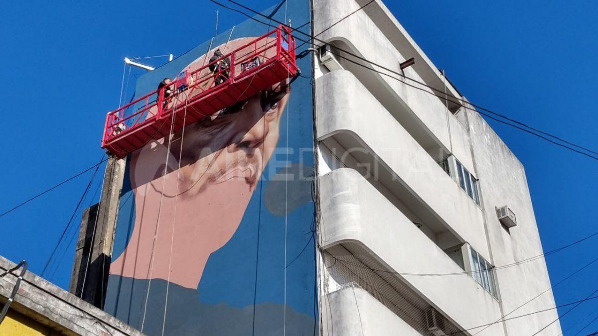 El mural de Ramiro Relañez