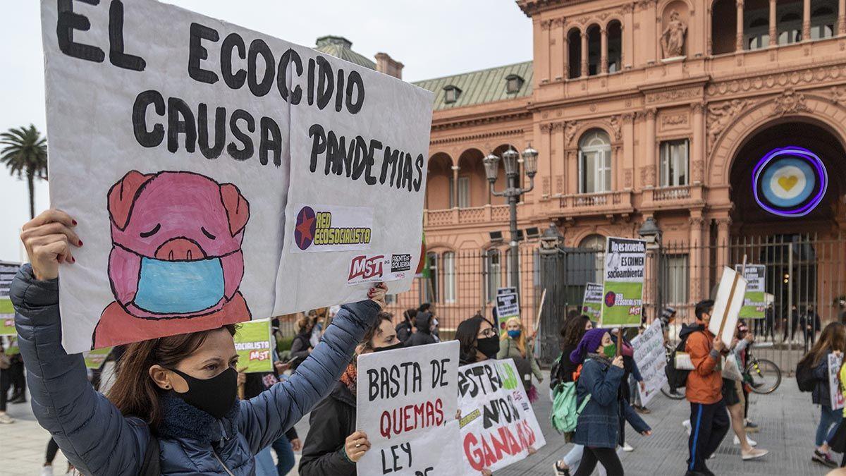 Buenos Aires: la Huelga por el Clima en 10 fotos