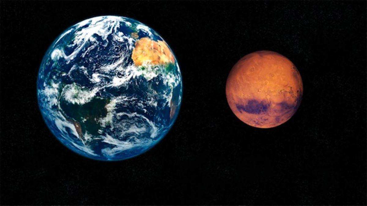 Marte se acercó a la Tierra y quedó a unos 62 millones de kilómetros. No volverá a suceder hasta dentro de 15 años.