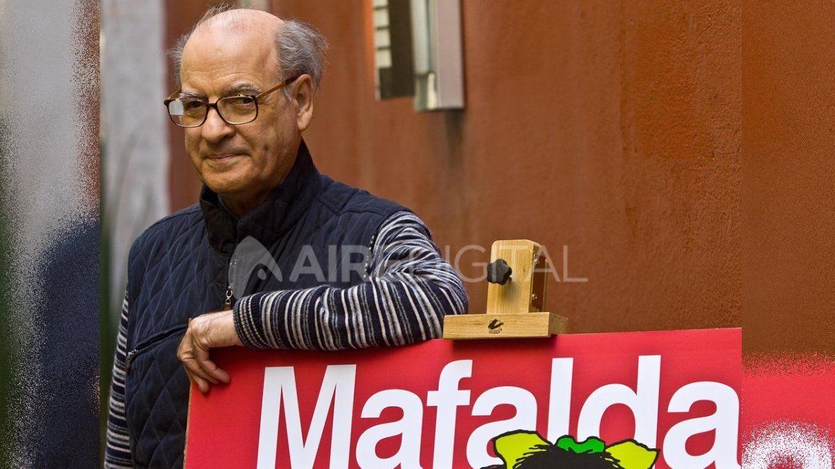 El artista Joaquín Salvador Lavado