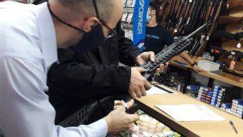 Seguridad: municipio y provincia realizan inspecciones en armerías locales