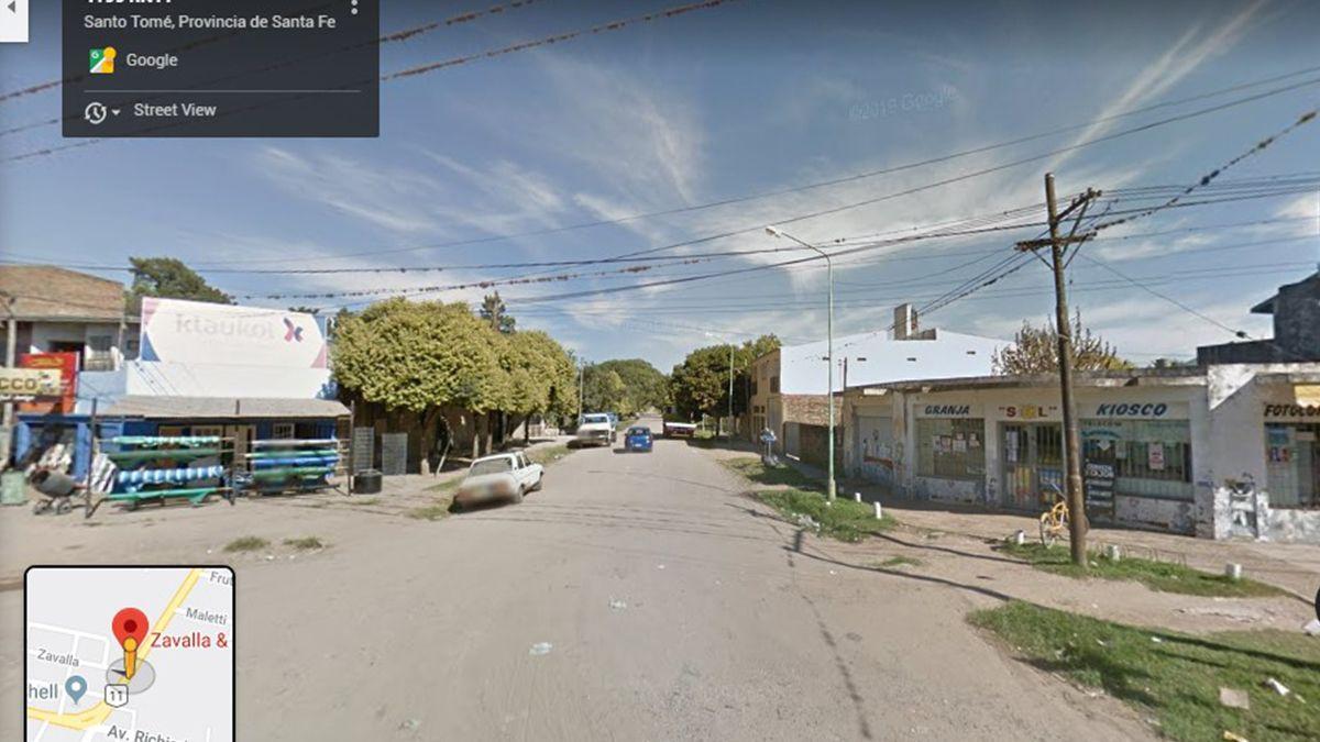 Avenida Luján y Zavalla