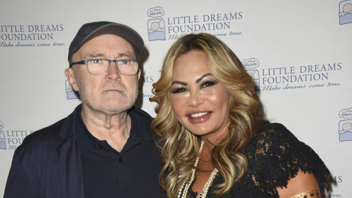 La ex mujer de Phil Collins lo abandonó por mensaje de texto y se casó con otro