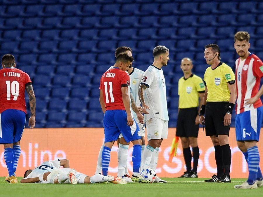 En el empate entre Argentina y Paraguay por las Eliminatorias