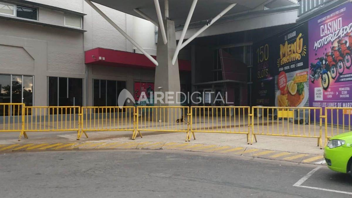El Casino de Santa Fe cerró sus puertas por la pandemia de coronavirus.