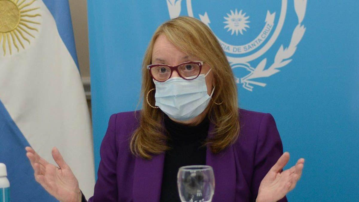 Alicia Kirchner es la quinta gobernadora de Argentina que se contagia de covid.
