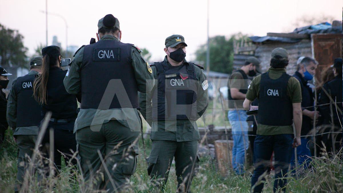 Usurpaciones: desalojaron los terrenos federales ocupados en el norte de la ciudad de Santa Fe