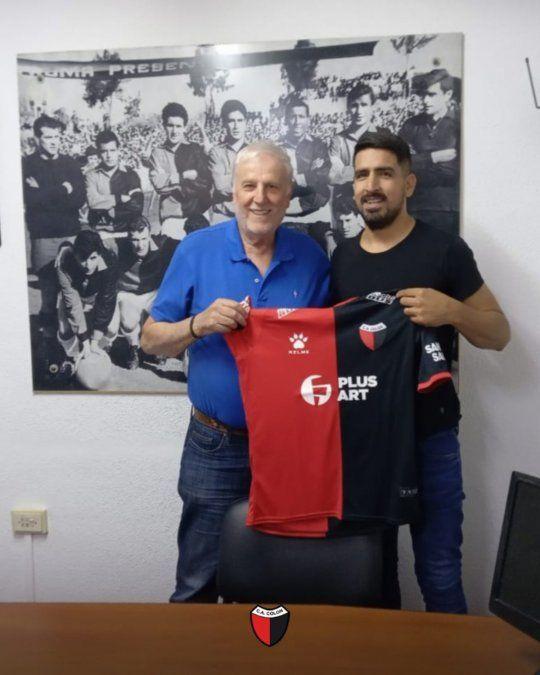 Lucas Viatri no iba a ser tenido en cuenta por Eduardo Domínguez y este viernes se despidió de sus compañeros.