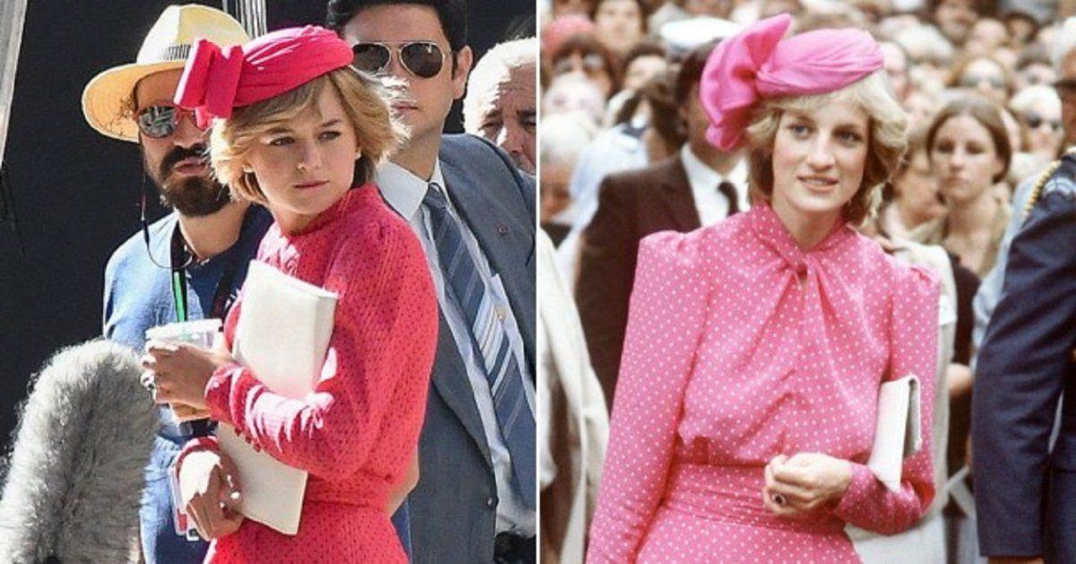 The Crown: los looks de Lady Di en la serie.